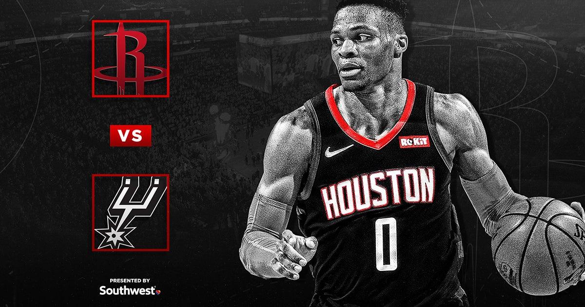 Rockets vs. San Antonio Spurs