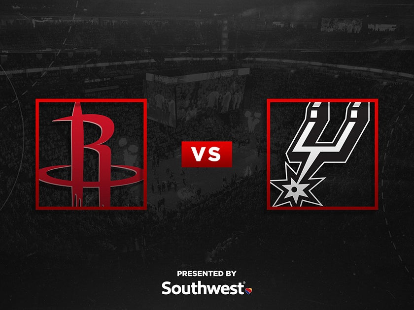 More Info for Rockets vs. San Antonio Spurs