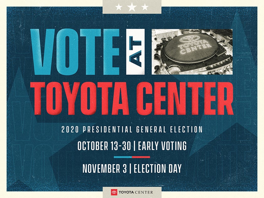 More Info for Voting At Toyota Center