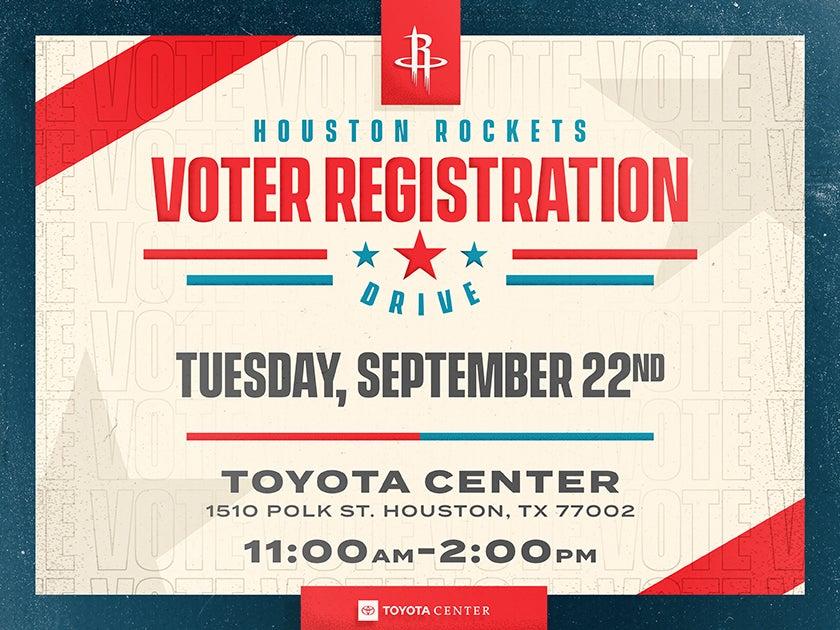 More Info for Voter Registration Drive
