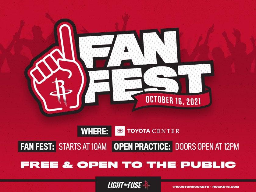 More Info for Houston Rockets Fan Fest