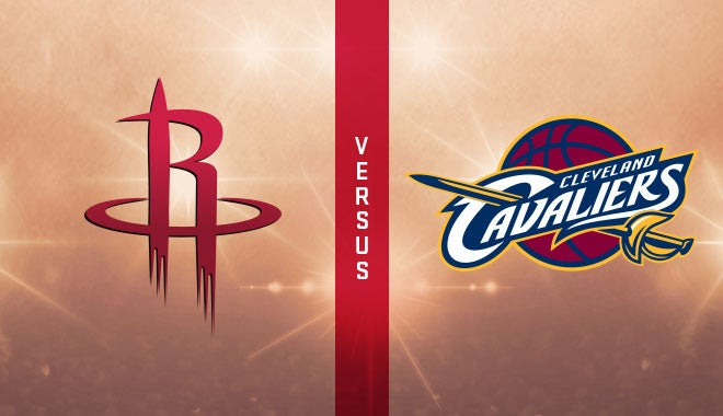 Houston Rockets Vs Cleveland Cavaliers Houston Toyota