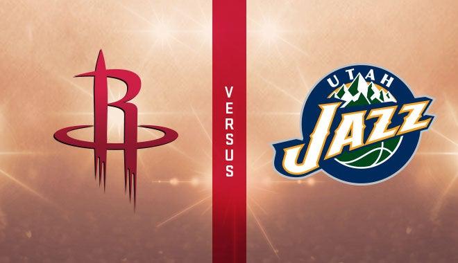 """Résultat de recherche d'images pour """"Houston Rockets vs Utah Jazz"""""""