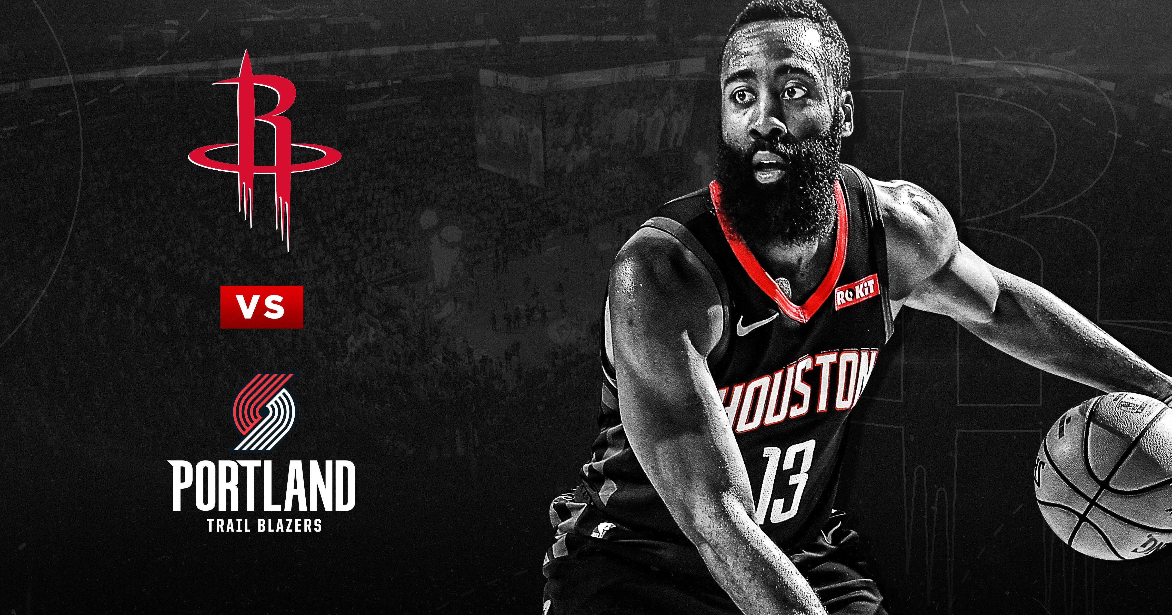 Houston Rockets vs. Portland Trailblazers | Houston Toyota Center
