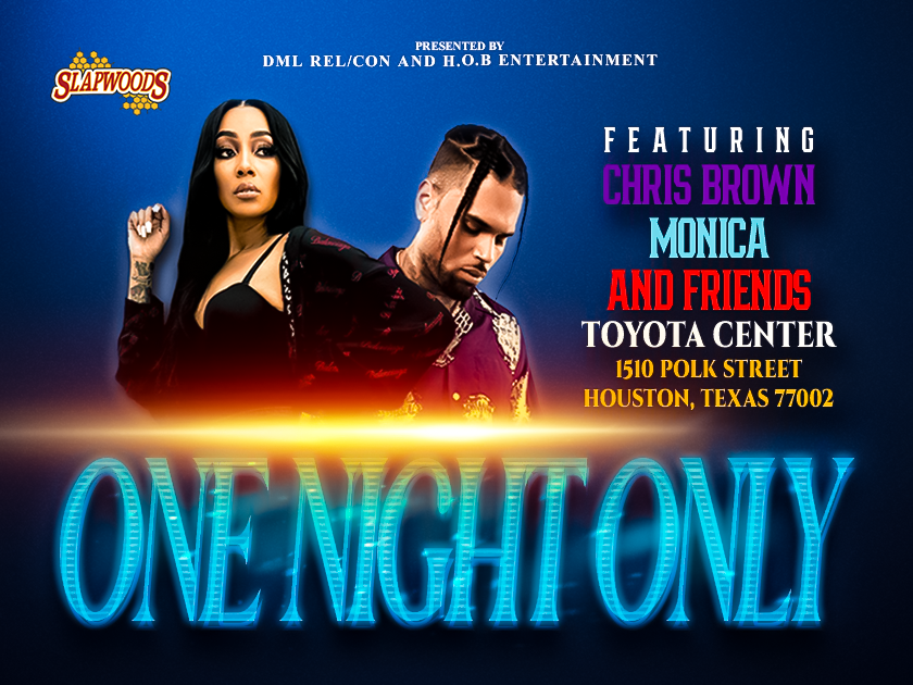 More Info for One Night Only: Chris Brown, Monica & Friends