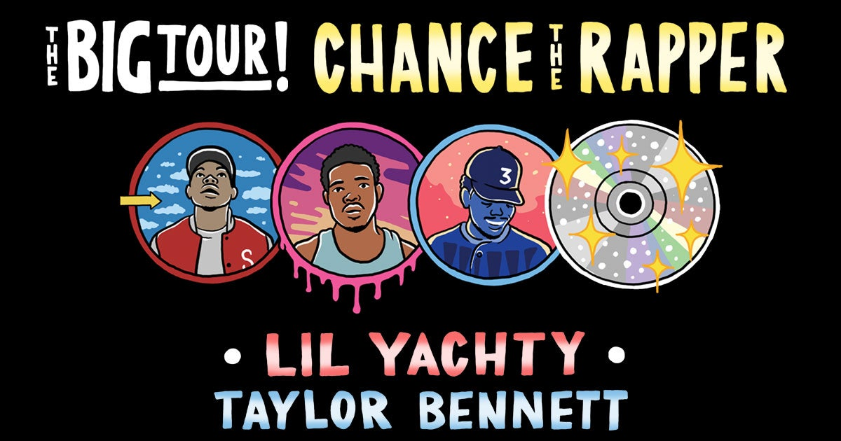Free Houston Events August 3 2020.Chance The Rapper The Big Tour Houston Toyota Center