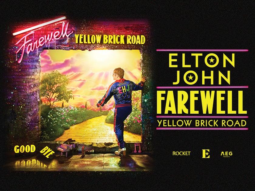 More Info for Elton John - RESCHEDULED
