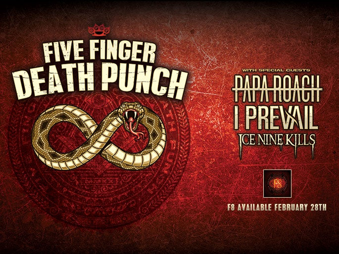 More Info for Five Finger Death Punch - RESCHEDULED