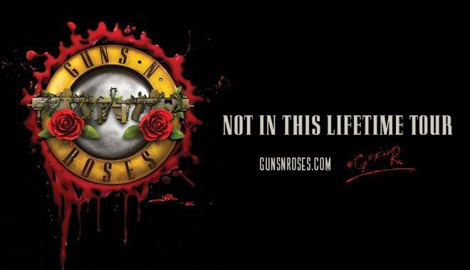 Guns N Roses Houston Toyota Center