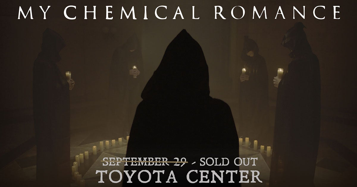My Chemical Romance Houston Toyota Center