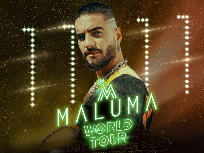 Maluma Tour 2020.Maluma Houston Toyota Center