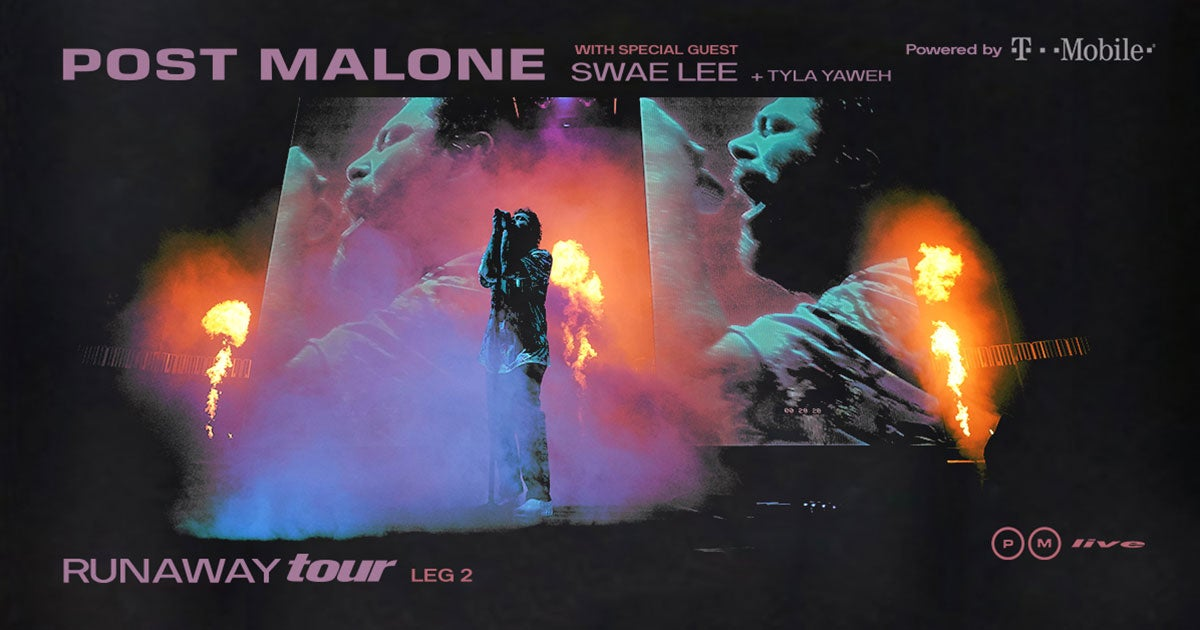 Houston Events April 2020.Post Malone Houston Toyota Center