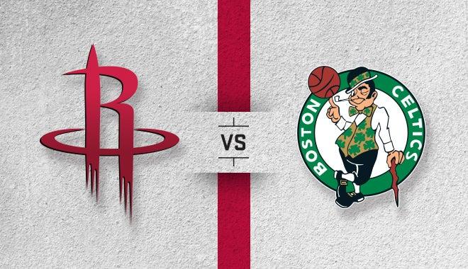 Houston Rockets Vs Boston Celtics Houston Toyota Center