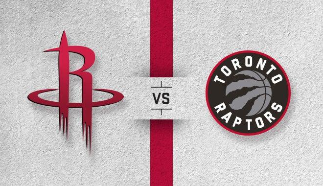 Houston Rockets Vs Toronto Raptors Houston Toyota Center