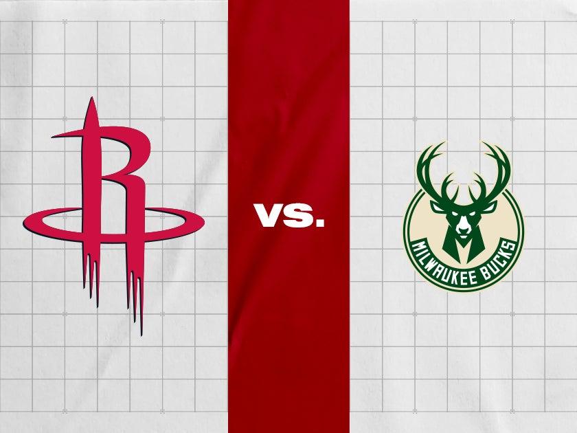 More Info for Houston Rockets vs. Milwaukee Bucks