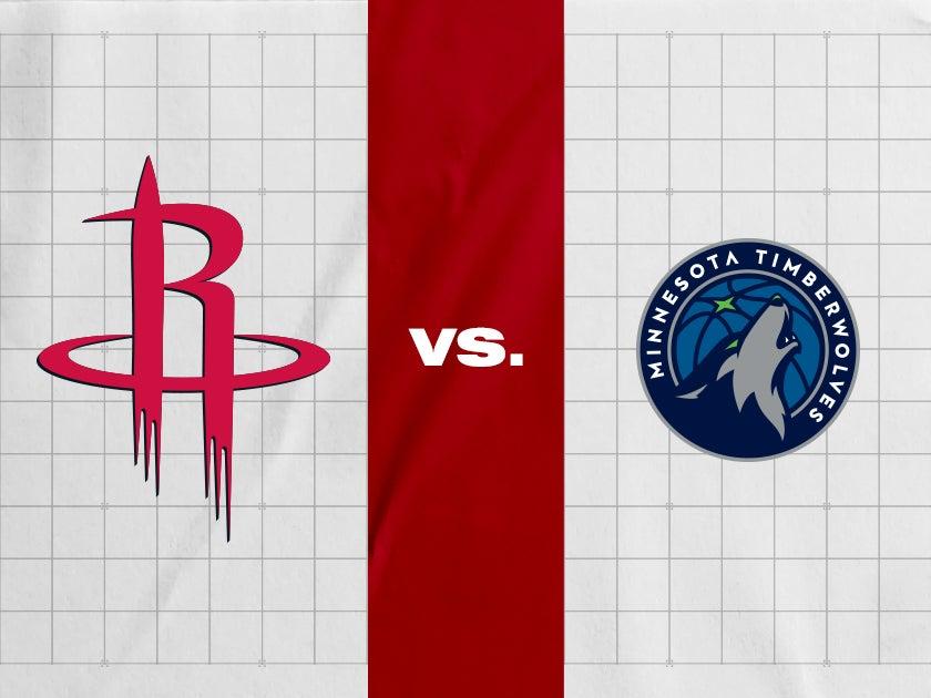 More Info for Houston Rockets vs. Minnesota Timberwolves