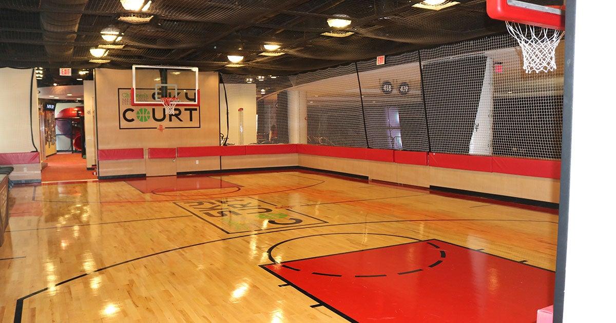 Children's Memorial Hermann Sky Court   Houston Toyota Center