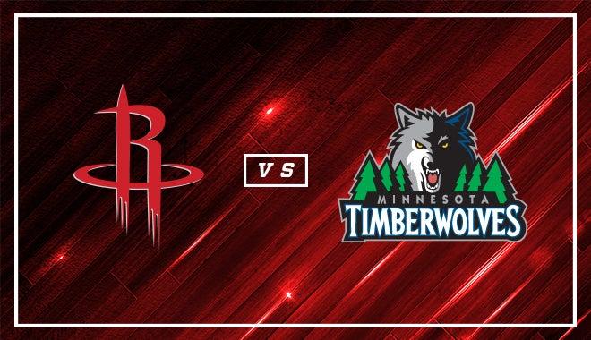 """Résultat de recherche d'images pour """"Houston Rockets @ Minnesota Timberwolves"""""""