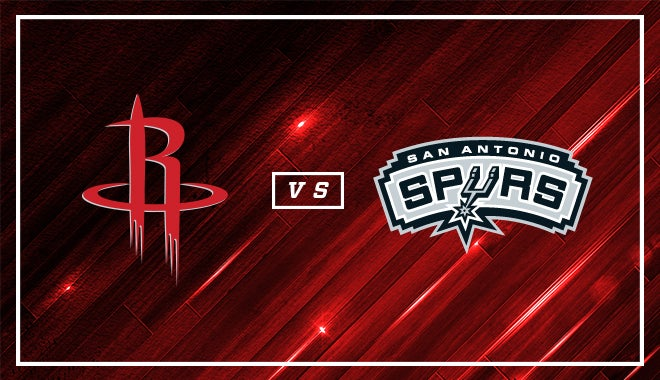Houston Rockets Vs San Antonio Spurs Houston Toyota Center