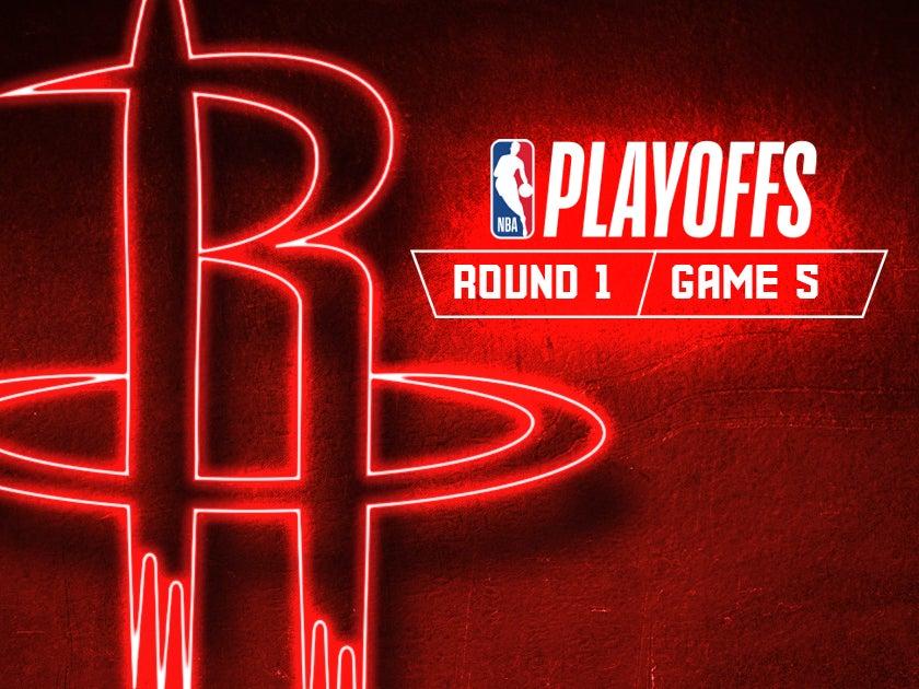 More Info for Game 5 - Houston Rockets vs. Utah Jazz