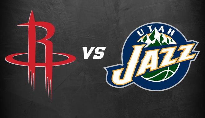 Houston Rockets Vs Utah Jazz Houston Toyota Center