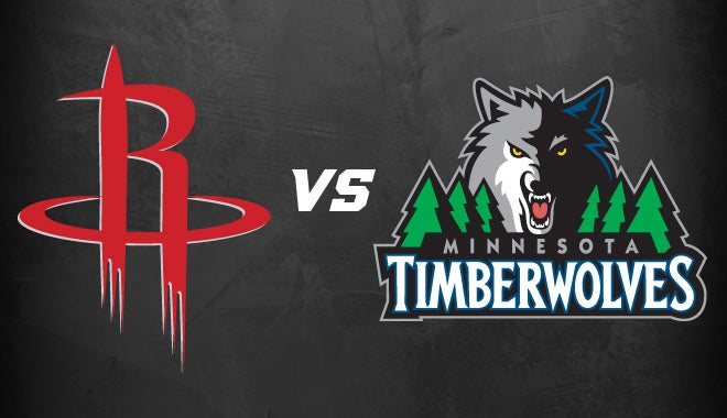 rockets vs timberwolves
