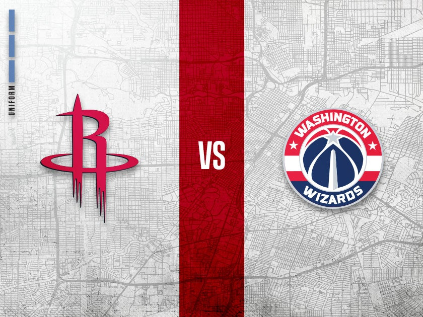More Info for Houston Rockets vs. Washington Wizards