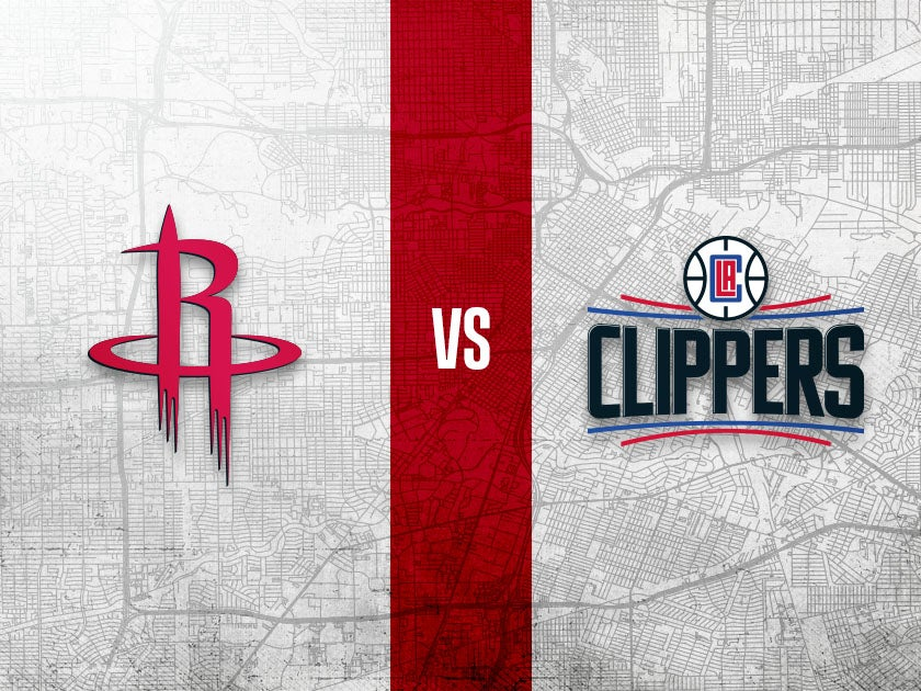 More Info for Houston Rockets vs. Los Angeles Clippers