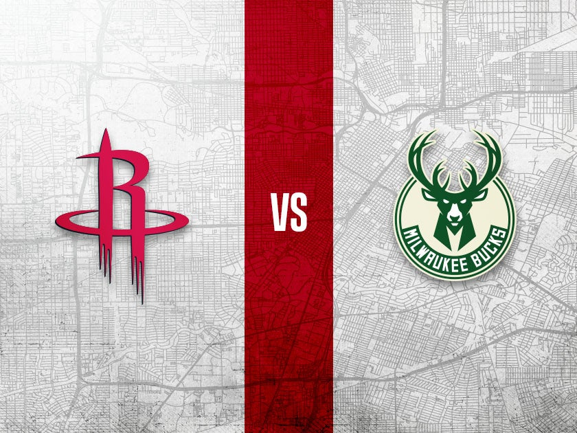 More Info for Houston Rockets vs. Milwaukee Bucks