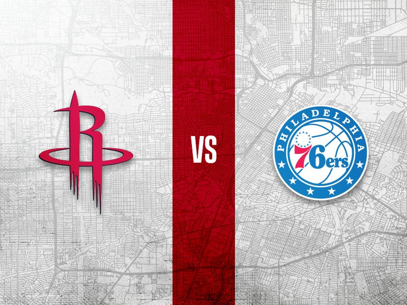 More Info for Houston Rockets vs. Philadelphia 76ers
