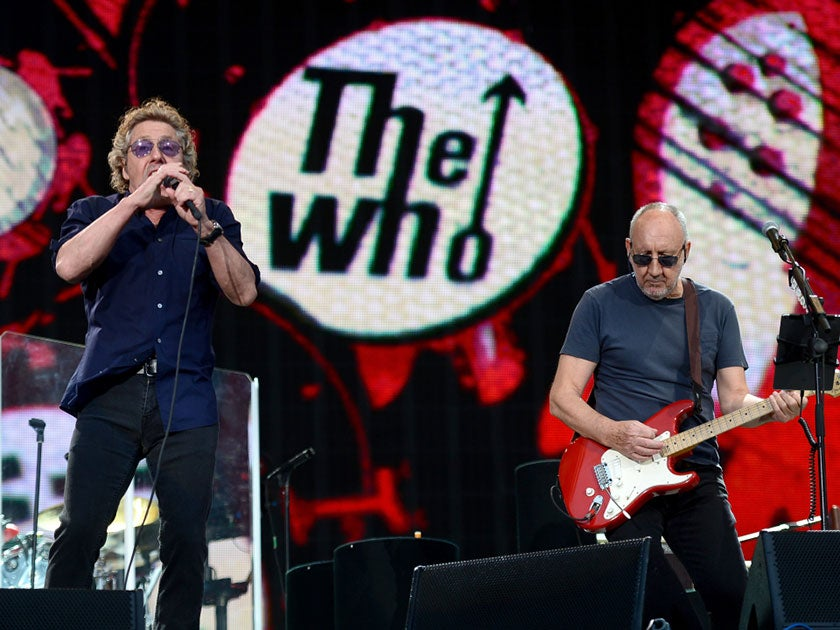 More Info for The Who - RESCHEDULED