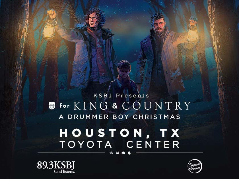 More Info for KSBJ Presents: for KING & COUNTRY's A Drummer Boy Christmas