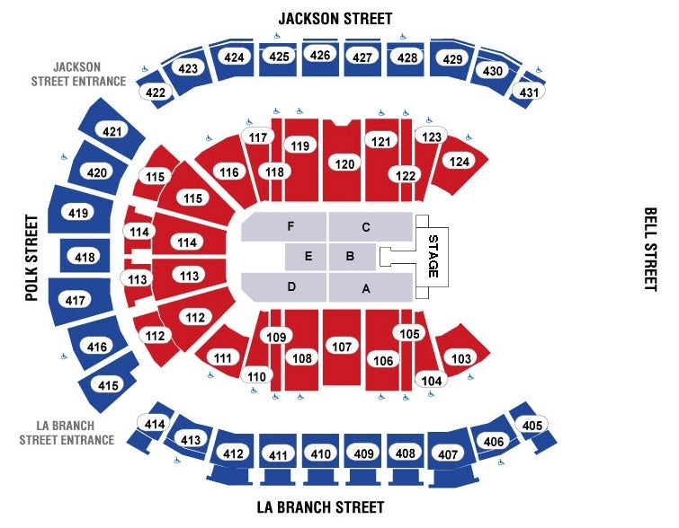 Panic at the disco houston toyota center seating map m4hsunfo